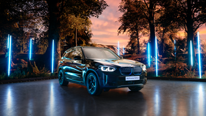 FCB Inferno's Futuristic Set Showcases BMW iX3 Premier Edition
