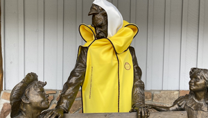 Funworks and Sun Bum Cover 50 Statues in 50 States with Giant Banana Suits to Kickoff Skin Cancer Awareness Month