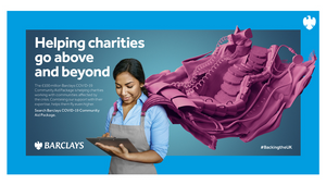 Barclays Partners with M&C Saatchi on London Underground Creative to Gift Ad Space to UK Charities