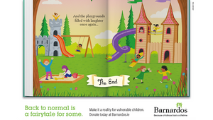 Barnardos Reminds Us Life After Lockdown isn't Always a Fairytale