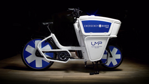 Wunderman Thompson and Ecox Launch 'Emergency Bikes' an Electric Bike Designed by and for Doctors