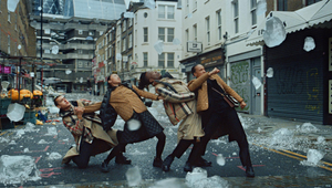 MPC Wins Cannes Gold and Silver Lions for Burberry 'Festive' Colour Grade and Visual Effects