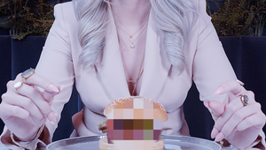 Food Concept Peach Censors its Own Food Porn Advert
