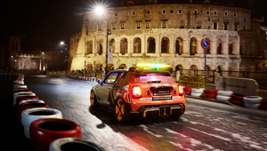 MINI and M&C Saatchi's Futuristic Challenge Sees Rome Turn into a Street Circuit