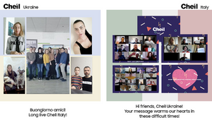 Cheil Ukraine Shows Unity for Italian Colleagues in Touching Team Video