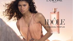 Actress Zendaya Rides Through the Streets of LA for Lancôme's Film