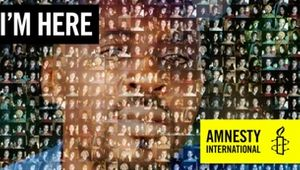 Thousands Unite for Amnesty's 'I'm Here' Campaign to Help Free Journalist From Prison