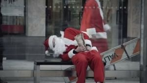 Crew Cuts' New Tongue-in-Cheek Christmas Campaign Urges Us All to Avoid SantaCon 2017