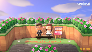 Sentosa Makes Wedding Dreams Come True via Animal Crossing