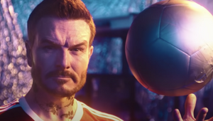 Don Broco Clone David Beckham in Quirky Sci-fi 'Manchester Super Reds No.1 Fan' Video