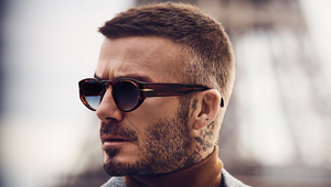 David Beckham Sends Postcards from Paris for FW20 Eyewear Launch