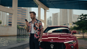 David Beckham Breaks Boundaries for High Speed Maserati Campaign