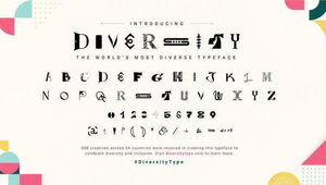 Distillery's Diversity Type Project Nominated at People's Lovie Awards