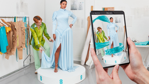 EE Debut World's First 5G Powered AR Dress on BAFTA Awards Red Carpet