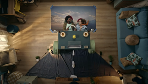 Take a Stop Motion Vacation Around the Living Room with Expedia