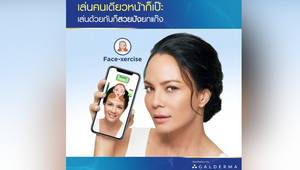 Galderma Keeps Us Young and Fun with Face-Xercise Game in Lieu of Open Beauty Clinics
