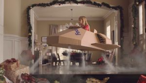 A Box and Imagination Is All This Girl Needs in FedEx's Sweet Holiday Ad