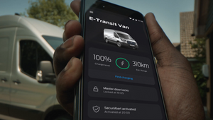 Ford Keeps Tradepeople Moving with FordPass Pro Spot