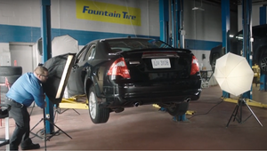 Fountain Tire Technicians Sharpen Photography Skills to Better Educate Customers