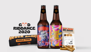 72andSunny Singapore Designs 'Good Riddance 2020' Collection to Toast a Sunnier 2021