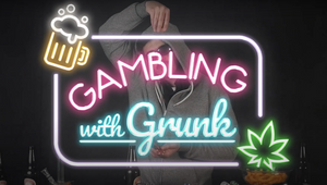 Drunk and High Gambling Influencer Demonstrates Consequences of Betting under the Influence
