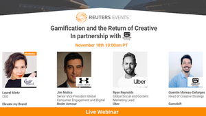 Marketing Webinar: The Rise of Gamification and the Return of Creative