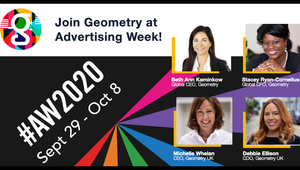 Geometry Takes Advertising Week 2020 with Event Lineup Announcement