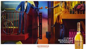 DDB Paris and Miles Aldridge Turn Glenmorangie Technicolour for Brand Campaign