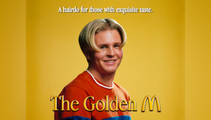 McDonald's Hijacks Iconic '90s Arches Hairdo to Celebrate Barber Shop Opening