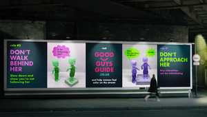 M&C Saatchi's Good Guys Guide Offers Men Seven Simple Rules to Help Women Feel Safer on the Streets