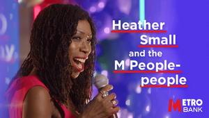 Heather Small Gets Metro Bank Moving on Up for 10th Birthday Party