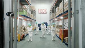 HECK Breaks its Stride for Joyful Spot New Year