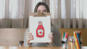 Heinz Anonymously Asked People to Draw Ketchup...They All Drew Heinz