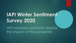IAPI Winter Sentiment Survey 2020