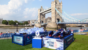 Genpact Installs Racing Car Built from Three Tonnes of Ice at London's Tower Bridge in Bid to Fight Climate Change