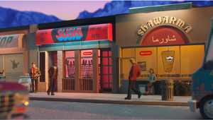 DoorDash Takes Viewers on Animated Journey of Miniature Canadian Neighbourhoods and Eateries in New Spot