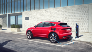 Jaguar E-PACE Strikes from Every Angle in Smooth Spot