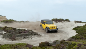 Jeep's Fast Paced Spot Takes Surfing to the Next Level