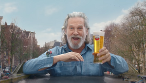 Your Shot: Amstel on Jeff Bridges, Bridges and Togetherness