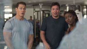 Jimmy Fallon Works Out with John Cena in Michelob ULTRA Big Game Spot