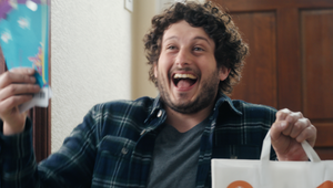 Just Eat Takeway.com's Magic Knee Slide Delivers Joy in UEFA EURO 2020 Ticket Giveaway Campaign
