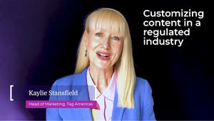 Customising Content in a Regulated Industry
