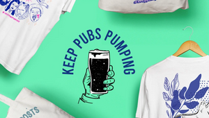 Buy a T-Shirt and Keep a London Pub Pumping