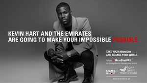 The Emirates and Kevin Hart Pledge to Make Big Dreams Come True in Generous Campaign