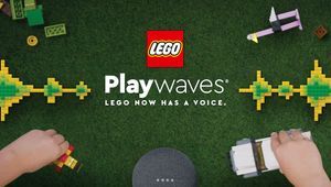 LEGO Lets Kids Turn Old Bricks into New Sonic Adventures with 'Playwaves'