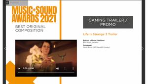 Novo Amor Wins Best Original Composition for 'Life Is Strange 3' Trailer