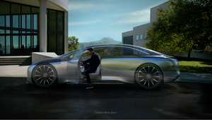 Mercedes-Benz Shares Something You've Never 'Seen' Before