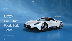 Maserati Goes Digital with Live-Streamed Launch of Maserati MC20 Supercar