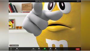 M&M'S Hosts Virtual Super Bowl LV Ad Premiere