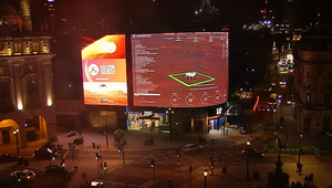 Live From Mars: Landing of NASA Perseverance Mission Streamed Live on Piccadilly Lights